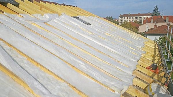 isolation par le toit