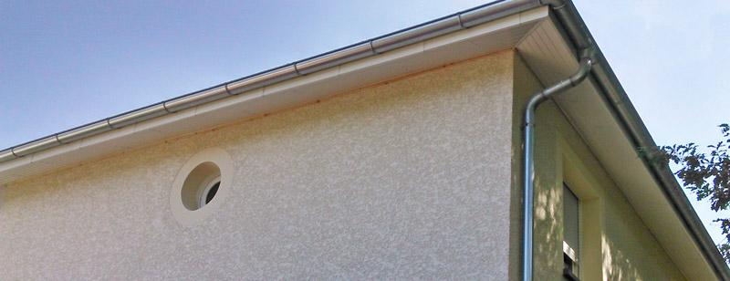 Habillage de dessous de toiture